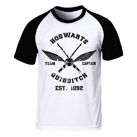 Camiseta Raglan Harry Potter - Quadribol