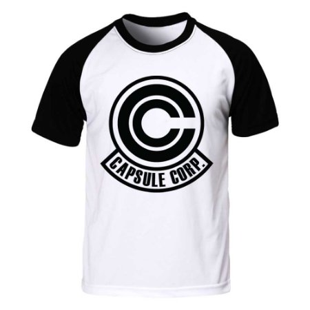 Camiseta Raglan Dragon Ball - Capsule Corp.