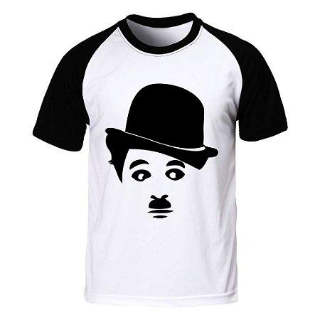 Camiseta Raglan Charles Chaplin
