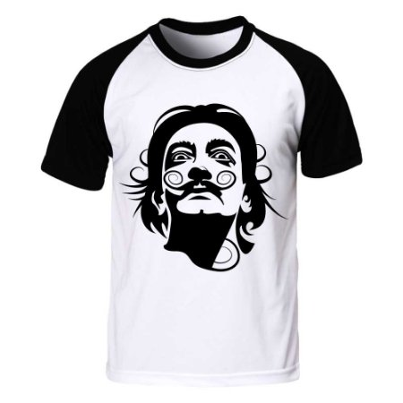 Camiseta Raglan Salvador Dali