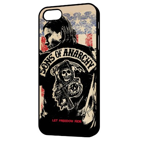 Capa para Celular Sons of Anarchy - Let Freedom Ride