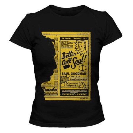 Camiseta Feminina Better Call Saul