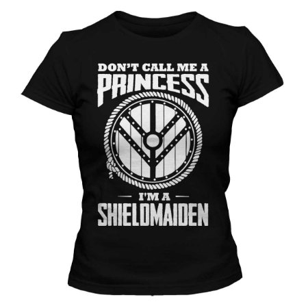 Camiseta Feminina Vikings - Don't Princess