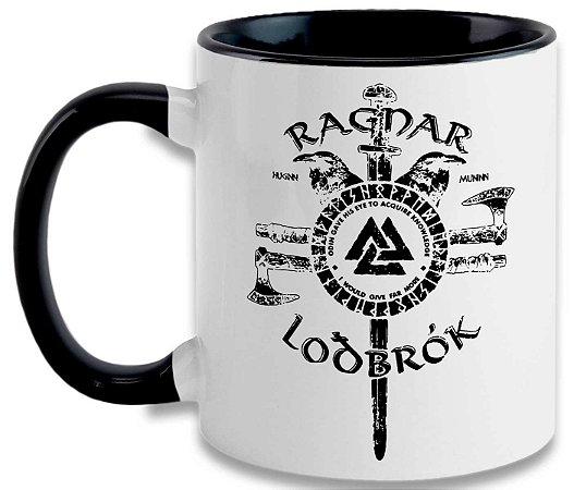 Caneca Vikings - Ragnar Lothbrok