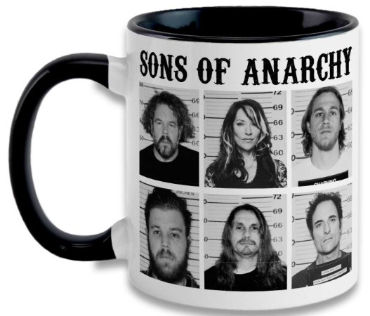 Caneca Sons of Anarchy - Mugshot