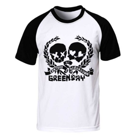 Camiseta Raglan Green Day - 21st Century Breakdown