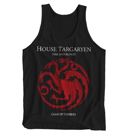 Regata Masculina Game of Thrones - House Targaryen