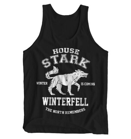 Regata Masculina Game of Thrones - House Stark Winterfell