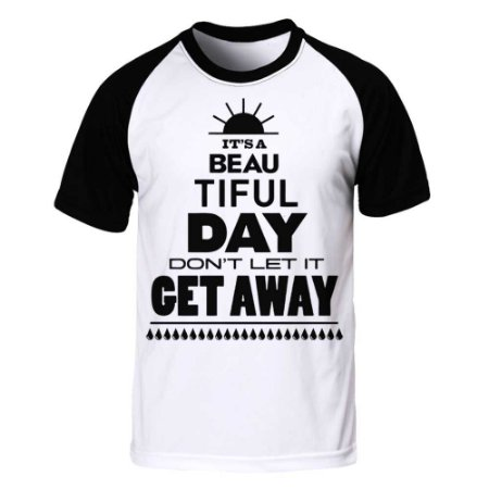 Camiseta Raglan U2 - Beautiful Day