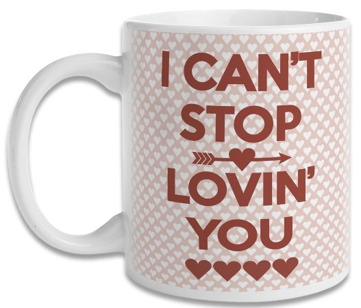 Caneca I Can't Stop Lovin' You