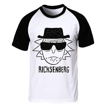 Camiseta Raglan Rick and Morty - Ricksenberg