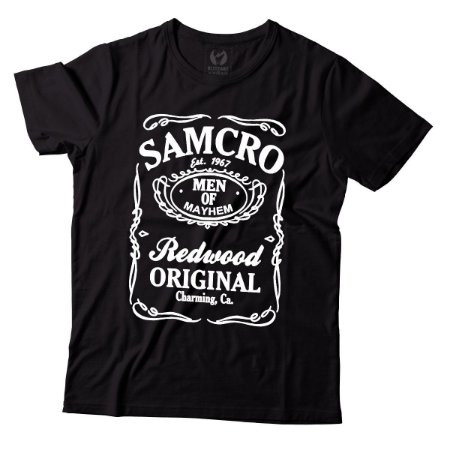 Camiseta Masculina Sons of Anarchy - Est 1967 - BKF