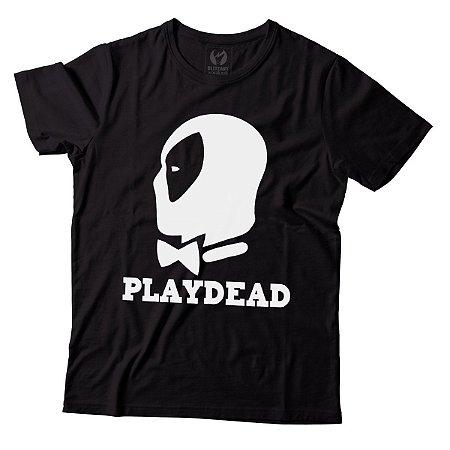 Camiseta Masculina Deadpool - Playdead - BKF