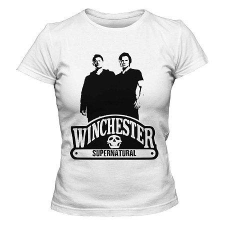 Camiseta Feminina Supernatual - Winchester - BKF