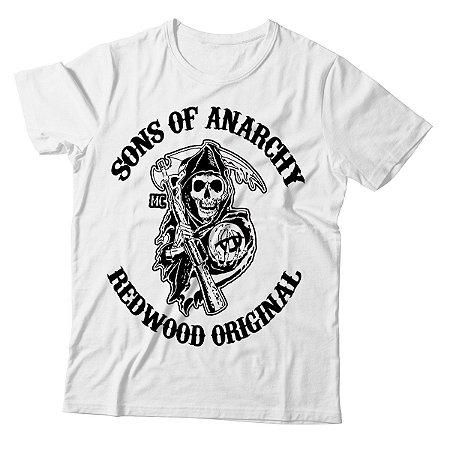Camiseta Masculina Sons of Anarchy - Redwood Original - BKF