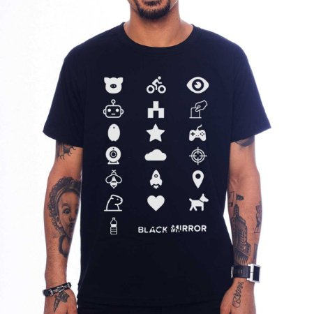 Camiseta Black Mirror