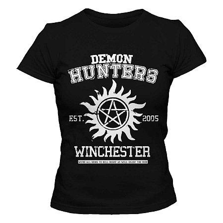 Camiseta Feminina Supernatural - Est. 2005