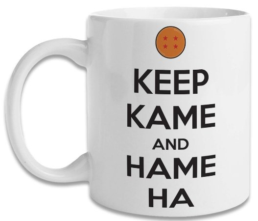 Caneca Dragon Ball Keep Kame and Hame Ha