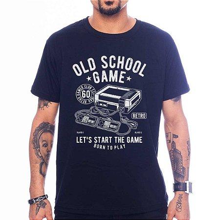 Camiseta Old School Game