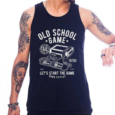 Regata Masculina Old School Game