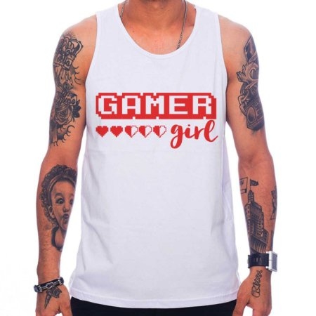 Regata Masculina Gamer Girl