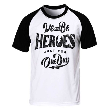 Camiseta Raglan Heroes For One Day