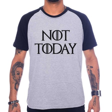Camiseta Raglan Not Today