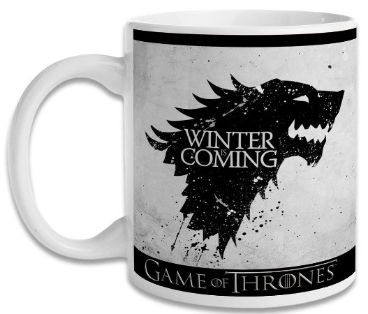 Caneca Game of Thrones - Winter is Coming