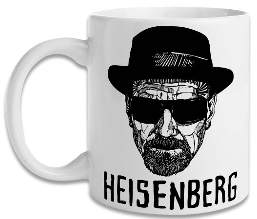 Caneca Breaking Bad Heisenberg 2