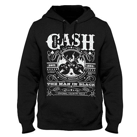 Moletom Johnny Cash - Est 1955