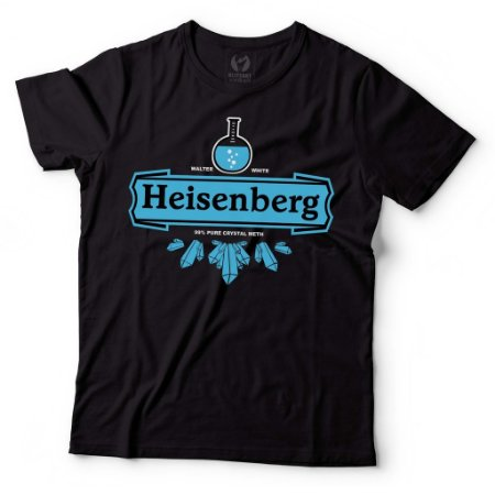 Camiseta Breaking Bad Heisenberg Crystal