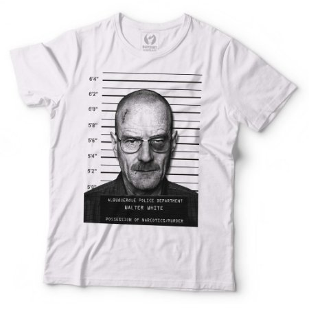 Camiseta Breaking Bad - Heisenberg Mugshot