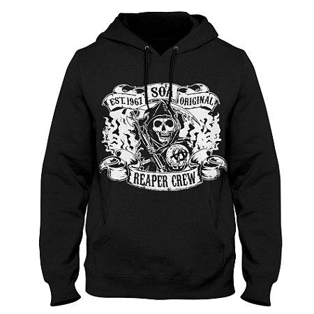 Moletom Sons of Anarchy - Reaper Crew