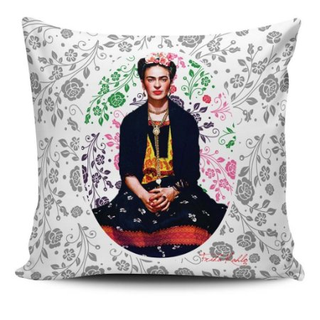 Almofada Frida Kahlo - Onde Não Puders Amar