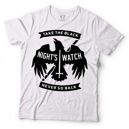 Camiseta Game of THrones Nights Watch - Take The Black