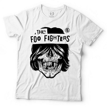 Camiseta Foo Fighters - Skull