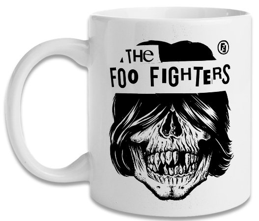 Caneca Foo Fighters Skull