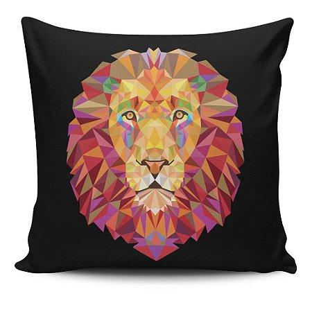 Almofada Geometric Lion