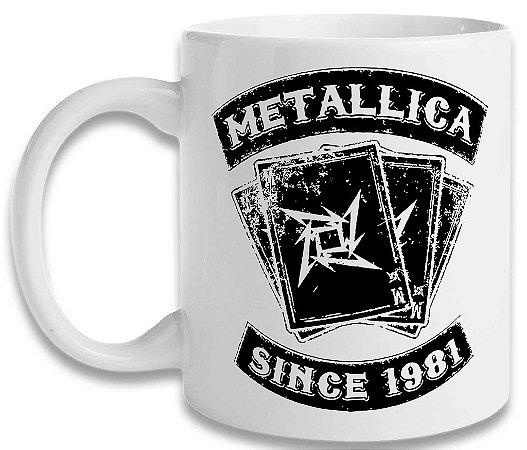 Caneca Metallica