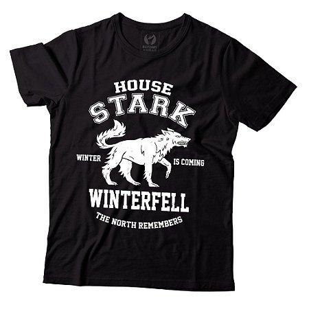 Camiseta Game of Thrones - House Stark Winterfell