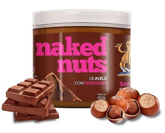 Naked Nuts Pasta de Avelã com Chocolate e Amendoim