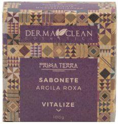 Derma Clean Prima Terra Sabonete Argila Roxa - Vitalize 100g