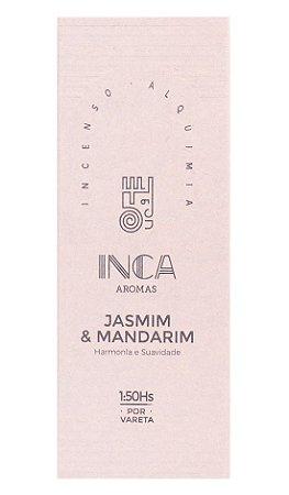 Inca Incenso Natural Jasmim e Mandarim
