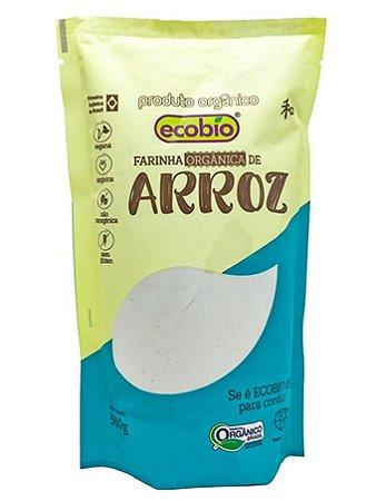 Ecobio Farinha de Arroz Orgânica 500g