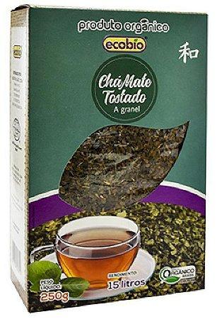 Ecobio Chá Mate Tostado a Granel Orgânico 250g