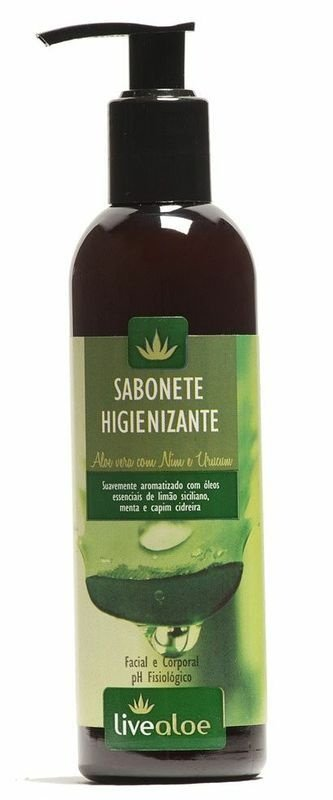 Livealoe Sabonete Higienizante com Aloe Vera 240ml