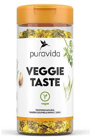 Puravida Veggie Taste - Tempero Natural Sabor Legumes e Ervas 120g