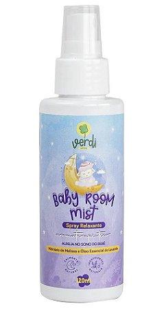 Verdi Natural Baby Room Mist Spray Relaxante com Melissa e Lavanda 120ml
