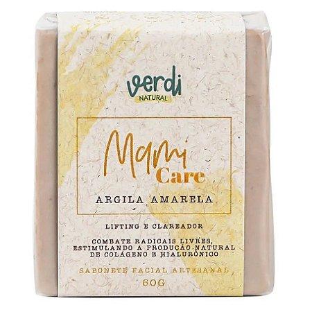 Verdi Natural Sabonete Facial Lifting e Clareador Argila Amarela Mami Care 60g