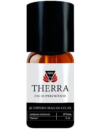 Therra By Laszlo Óleo Essencial de Junípero Bagas GT Índia (CO2-SE) Gourmet 5ml